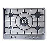 Stoves SGH700E 70cm Gas Hob in Stainless Steel