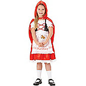 Child Red Riding Hood Costume Medium