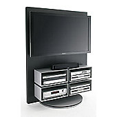 Luke Furniture Metal TV Stand for LCD / Plasma's - High Gloss Black