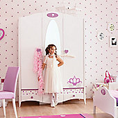 New Joy Princess 3 Door Children's Wardrobe