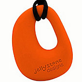 Jellystone Organic Teething Pendant in Carrot
