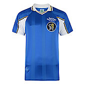 Chelsea 1998 ECWC Final Shirt Blue M