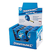 Silverline Measure Mate Tape Display Box 24pce 8m x 25mm