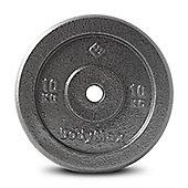 Bodymax Standard Hammertone Weight Disc Plate - 10kg