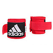 adidas 2.5mm Boxing Glove Training Hand Wraps - Red