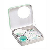 Beaba Training Dinner Set Mint Green Stars