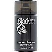Paco Rabanne Black XS Perfumed Body Spray 250ml For Men