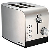 Morphy Richards 44208 Accents 2 Slice Toaster - Brushed Stainless Steel