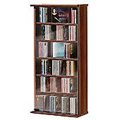 VCM Vetro CD / DVD Storage Tower - Cherry