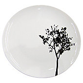 Shadow Tree Dinner Plate, Porcelain