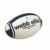 Webb Ellis Oblivion Match Ball White/Navy Size 4
