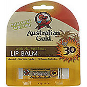 Australian Gold Sunscreen Lip Balm Kiwi-Lime 4.2g SPF30