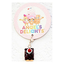 Children's Chocolate Slice Clip on Charm