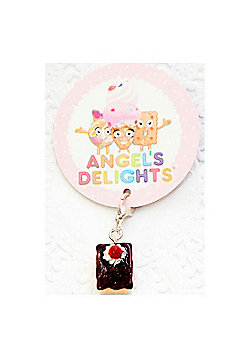 Children's Chocolate Slice Clip on Charm