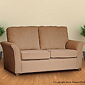 Sweet Dreams Edinburgh 2 Seater Sofa Bed - Sand