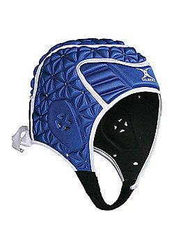 Gilbert Evolution Rugby Headguard - Blue