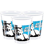 Star Wars Cups - 180ml Plastic Party Cups
