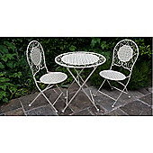 Country Cream Bistro Set