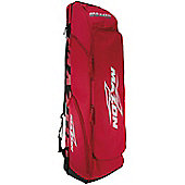 Mazon Tour Combo Bag Heavy Duty Hockey Stick Bag with Shoulder Straps Red