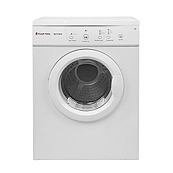 Russell Hobbs White 7kg Vented Tumble Dryer, RH7VTD500