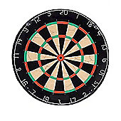 Strikeworth Wood Effect Dartboard With Darts