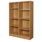Grid - Eight Grid Bookshelf / Storage Shelves - Pine