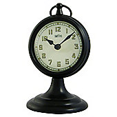 Roger Lascelles Clocks Smiths Dashboard Mantel Clock - Black