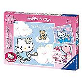 Hello Kitty 3 X 49pc Jigsaw Puzzle