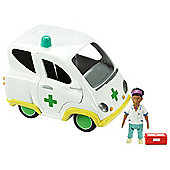 Fireman Sam Vehicle and Accessory Set Ambulance