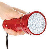 51 LED Torch - Red