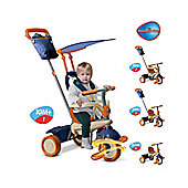 Smart Trike Vanilla 4-in-1 - Blue