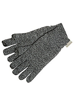 """F&F Touch Screen Gloves with Thinsulateâ""""¢ - Grey"""