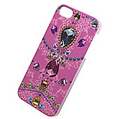 Tortoise™ Hard Protective Case, iPhone 5/5S, Jewelled Design ,Pink