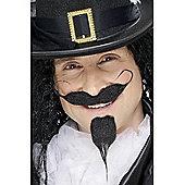 Black Cavalier Beard & Moustache