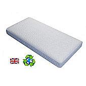 PreciousLittleOne Non Allergic Aircool Framed Pocket Sprung Cot Bed Mattress (140x70)