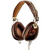 Skullcandy Roc Nation Aviator Over Ear Headphones (Brown/Gold)