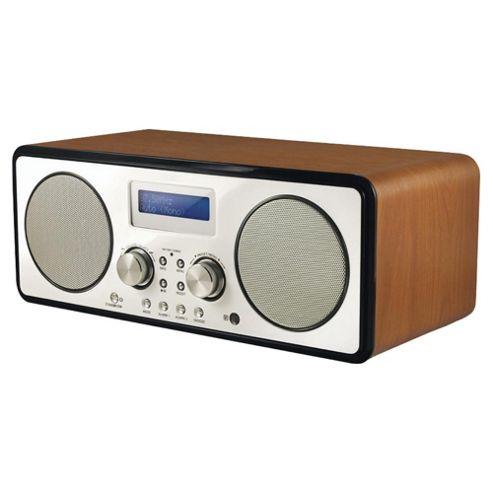 Roth DBT-003 DAB Radio with Bluetooth (Walnut)