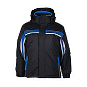 Mountain Warehouse Eagle Kids Ski Snoboarding Skiing Snow Winter Jacket Coat - Black