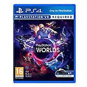 VR Worlds PS4 (Virtual Reality)