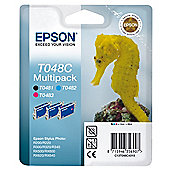 Genuine Epson Multipack T048C Ink Cartridge - C13T048C4010
