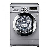LG F1496AD5 Wash 8kg/Dry 4kg Capacity Washer Dryer & 13 Programmes in Silver