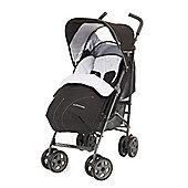 Mothercare Nanu LX Stroller- Black/ Grey Marl