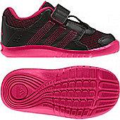 Adidas KatNat 2 AC I Infants Velcro Trainers Sizes - Black