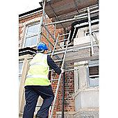 Heavy Duty 3.0m (9.84ft) Tuff Steel Single Pole Ladder