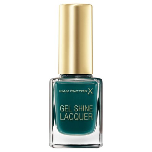 Max Factor Glossfinity Gel Shine Lacquer Gleaming Teal 45