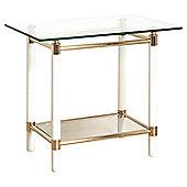 Urbane Designs Palaccio End Table with Shelving
