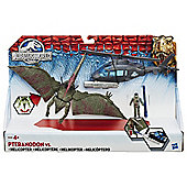Jurassic World Pteranodon Vs. Helicopter