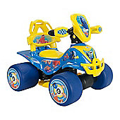 Finding Dory Ride On Kids Quad Bike - Blue Electric Quad Bike - Injusa