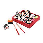Santoys ST710 Wooden Play Food Sushi Set
