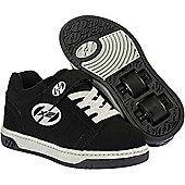 Heelys Dual Up Black/Grey Kids Heely X2 Shoe - Black